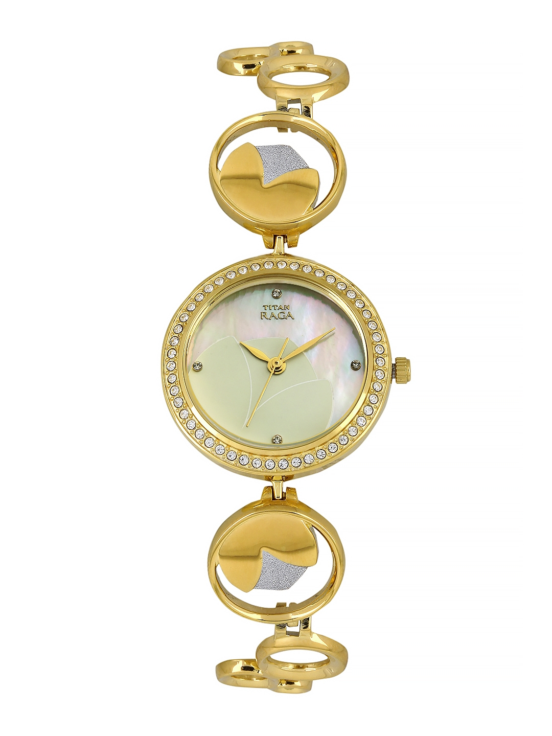Titan Raga Garden of Eden Women White Analogue watch NL2539BM01