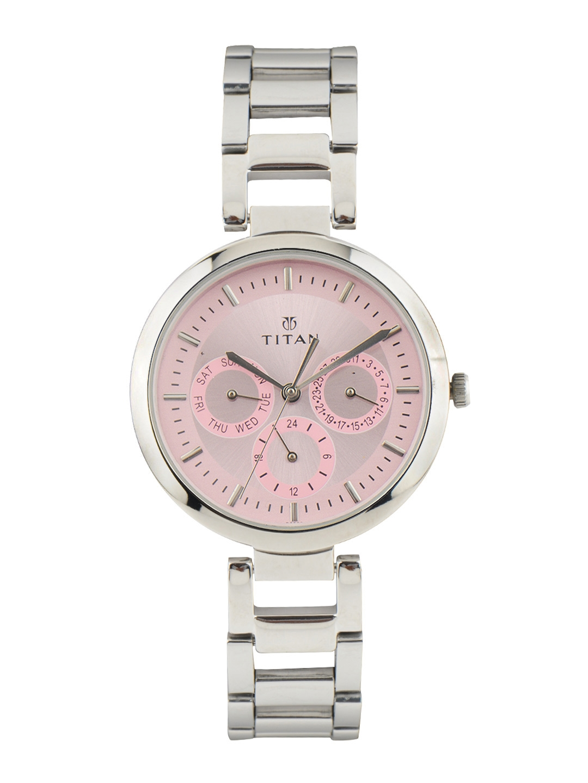 Titan Women Pink Dial Watch