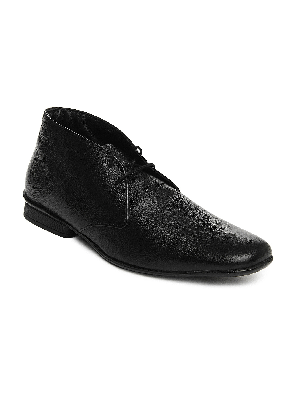 Buy U.S. Polo Assn. Men Black Leather