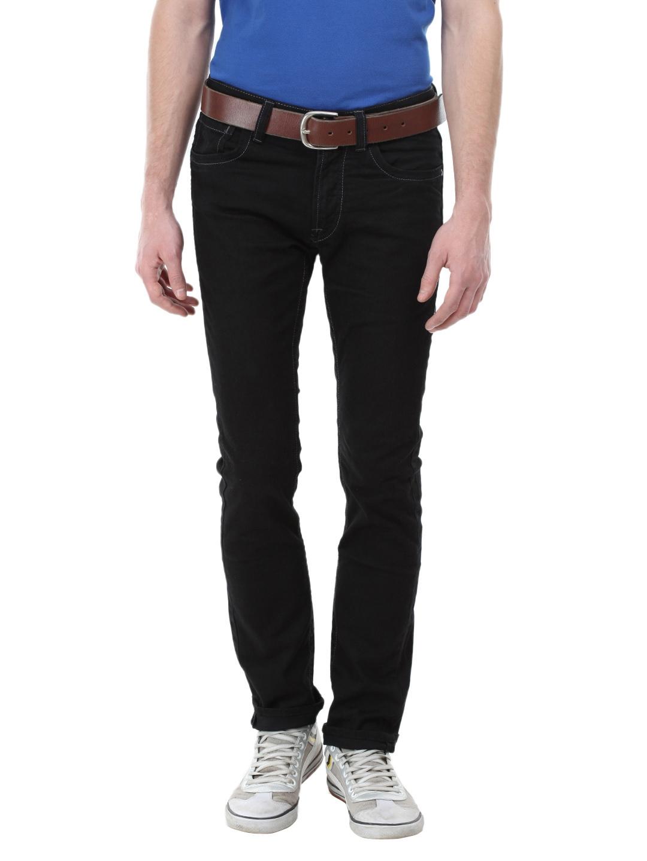 1720f9810 Buy U.S. Polo Assn. Denim Co. Men Black Skinny Fit Jeans - Jeans for ...