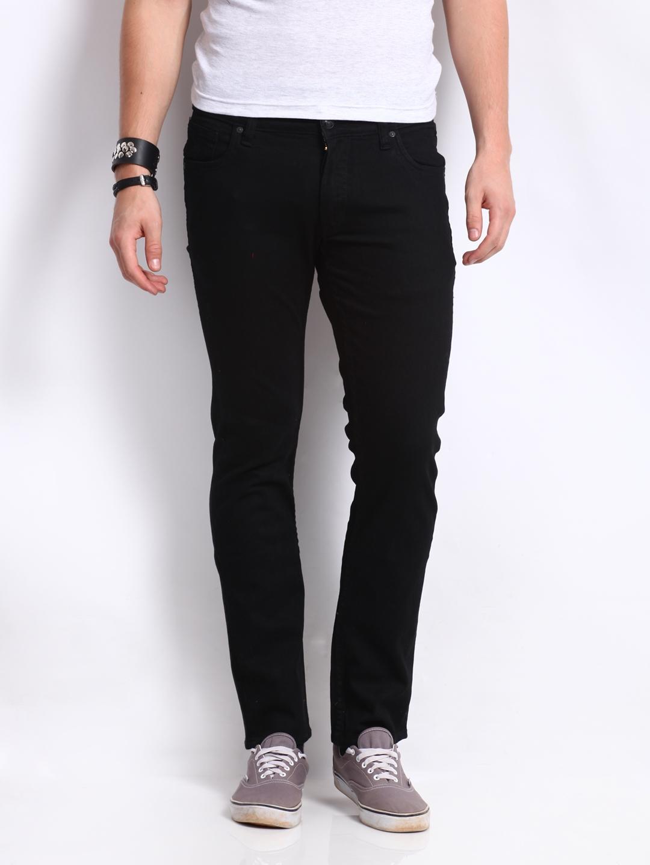 dc497508 Buy U.S. Polo Assn. Denim Co. Men Black Skinny Fit Jeans - Jeans for ...
