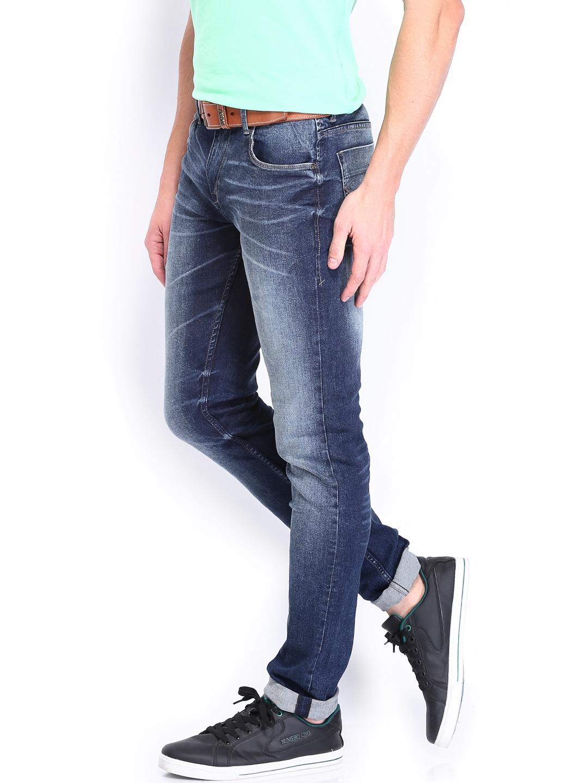 5d1d3943 Buy U.S. Polo Assn. Denim Co. Men Blue Skinny Fit Jeans - Jeans for ...