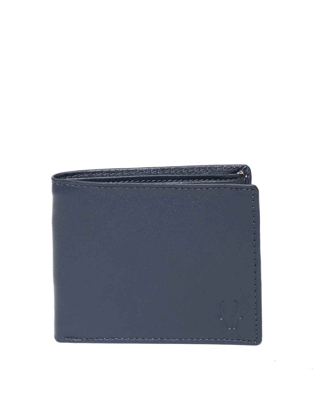 WildHorn Men Navy Leather Wallet