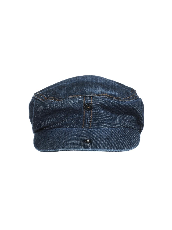 934201a6af3 Buy Basics Men Blue Beret Cap - Caps for Men 41511