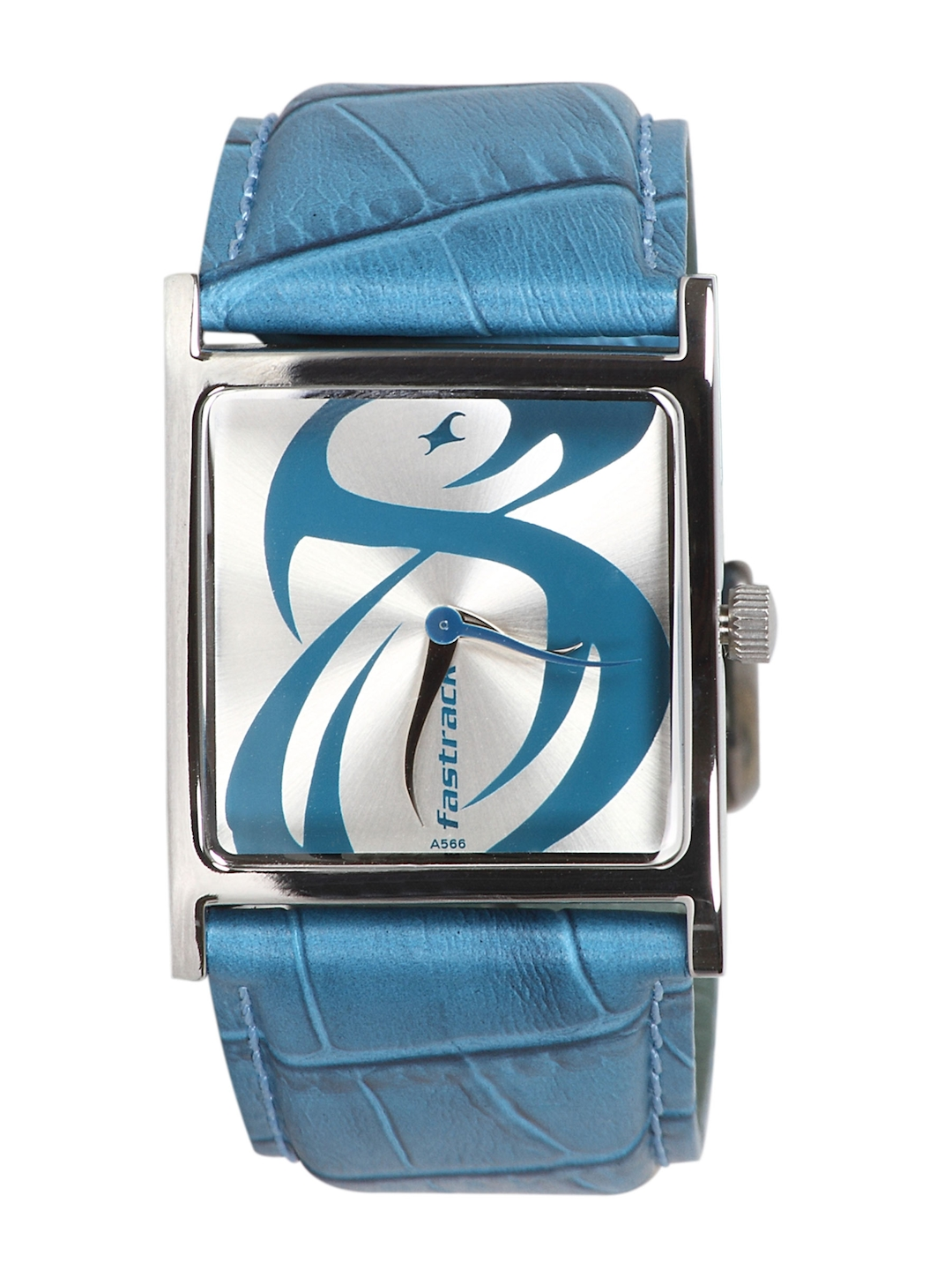Fastrack Women New Analog Steel Blue Watch