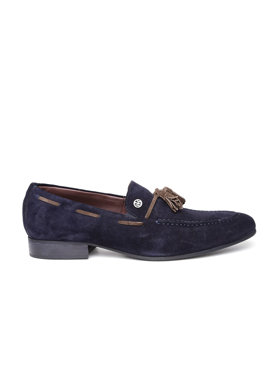 499885aafbb6 Tommy hilfiger a6amf046 Men Brown Leather Loafers - Best Price in ...