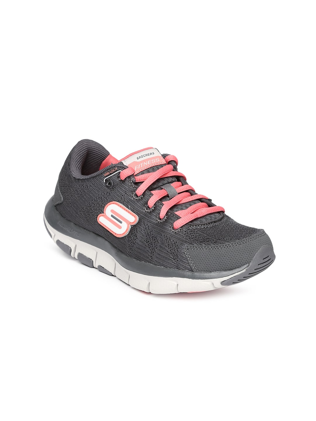 e4d09a55090 Skechers 99999830-cccl-charcoal Women Charcoal Grey Shape Ups Liv Running  Shoes- Price in India