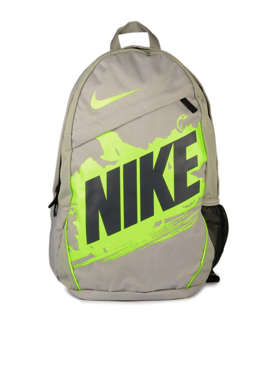 ... online store 7abaa 95910 grey and green nike backpack  quality design  ... 07d3164a3107c