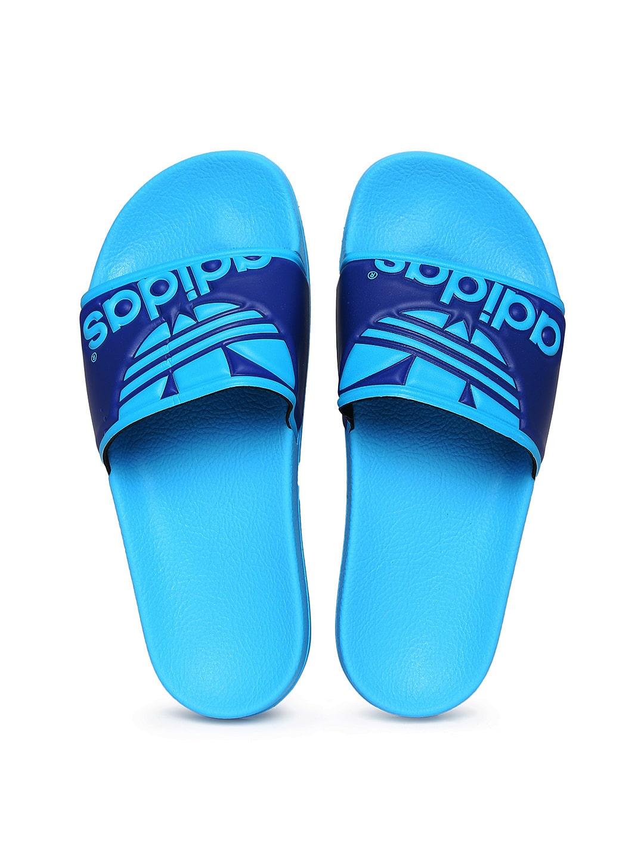 29c77762d Adidas m20522 Original Men Blue Adilette Trefoil Flip Flops - Best ...