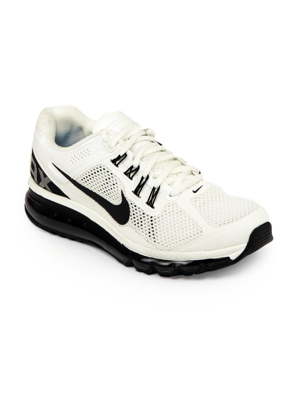 Nike 554886 101 Men White Air Max+ 2013 Sports Shoes