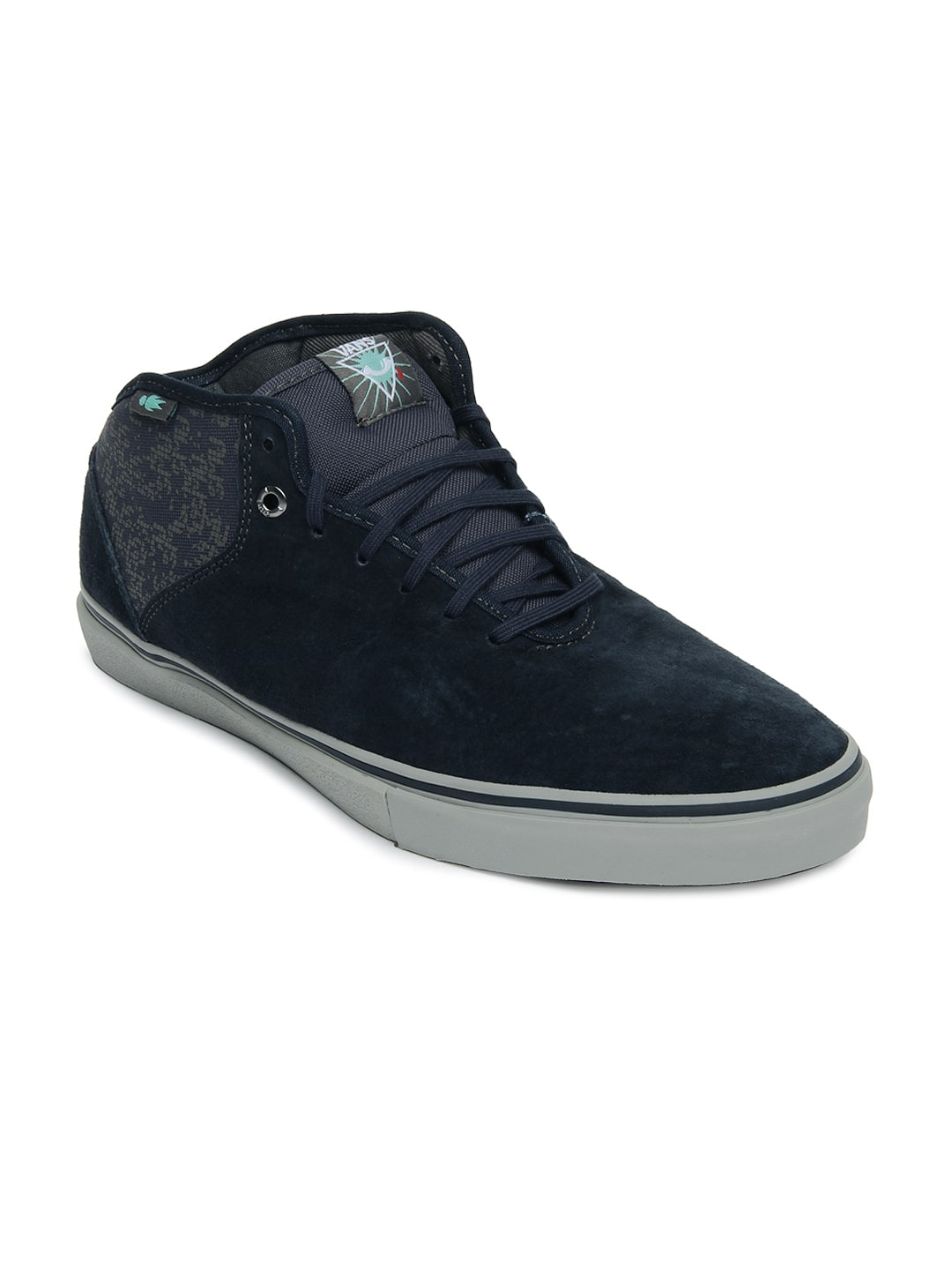 ab85c33cd2 Vans vn-0oye8lb Men Blue Stage 4 Mid Casual Shoes - Best Price in ...