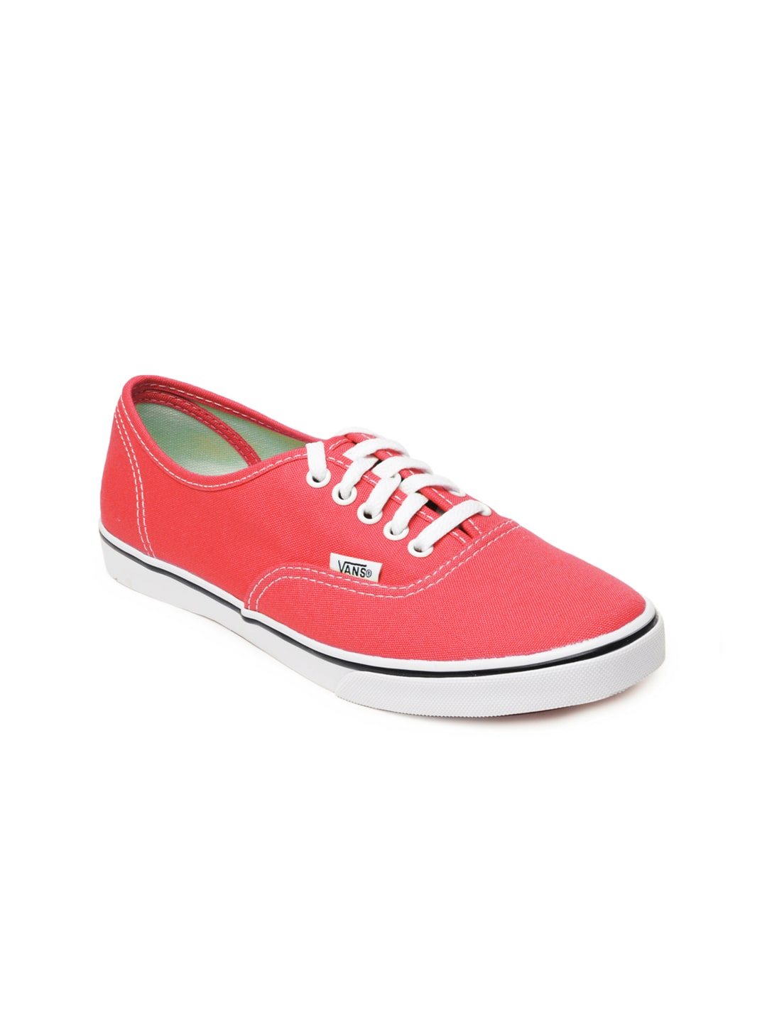 ed888e7b3b Vans vn-0qes80t Women Pink Authentic Lo Pro Casual Shoes- Price in India