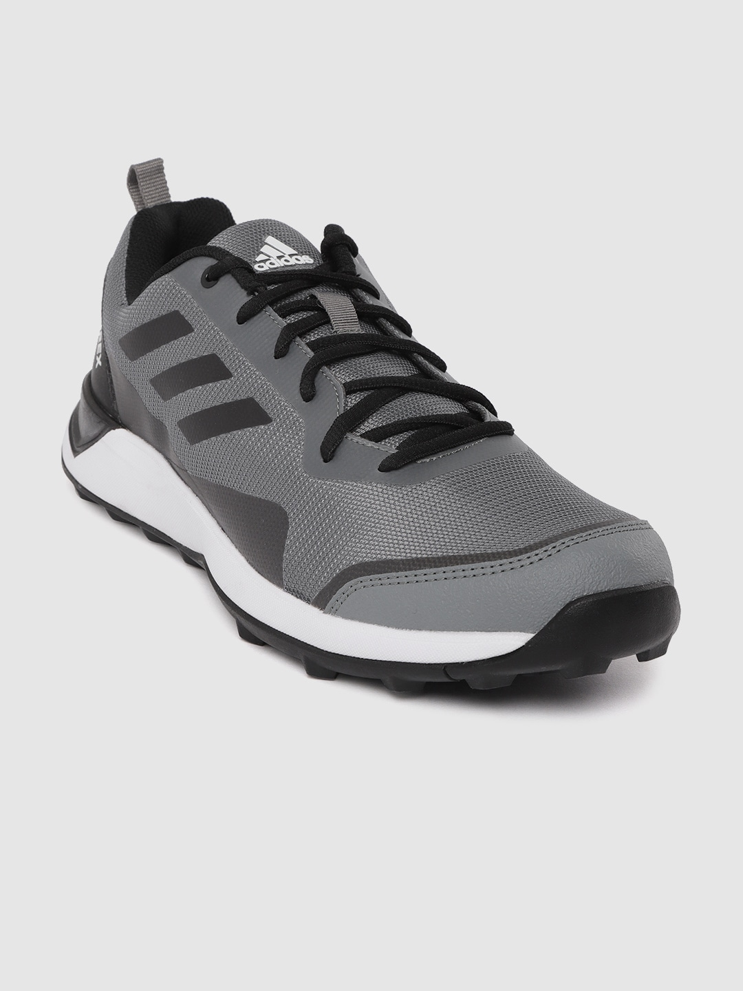 Men Charcoal Grey Andorian Trekking Shoes