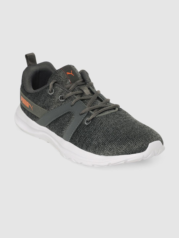 Puma Unisex Grey Flex Pro IDP Running Shoes