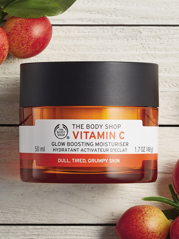 The Body Shop Vitamin C moisturizer for dry skin