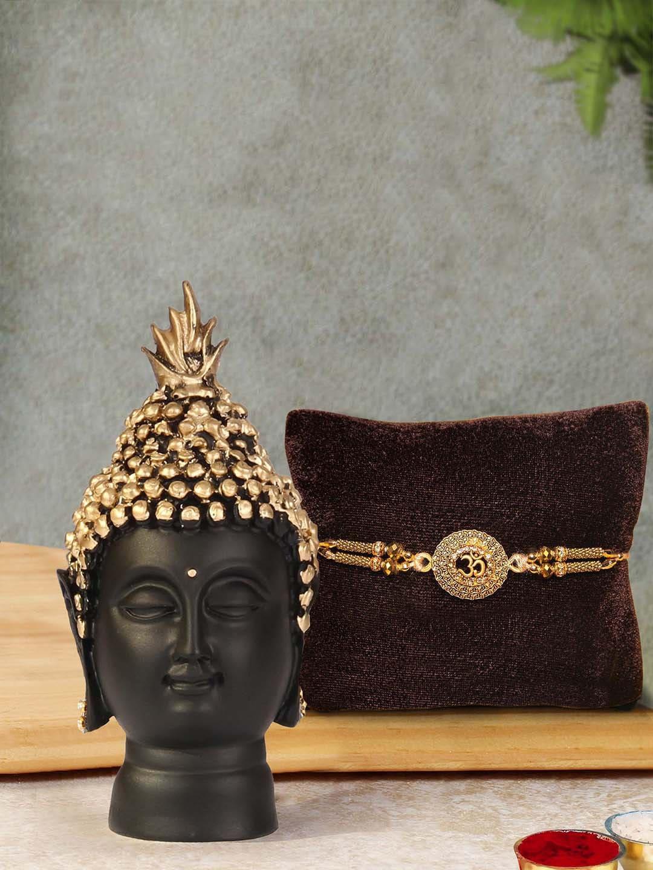 Buddha Idol Staue Combo Gift Set myntra