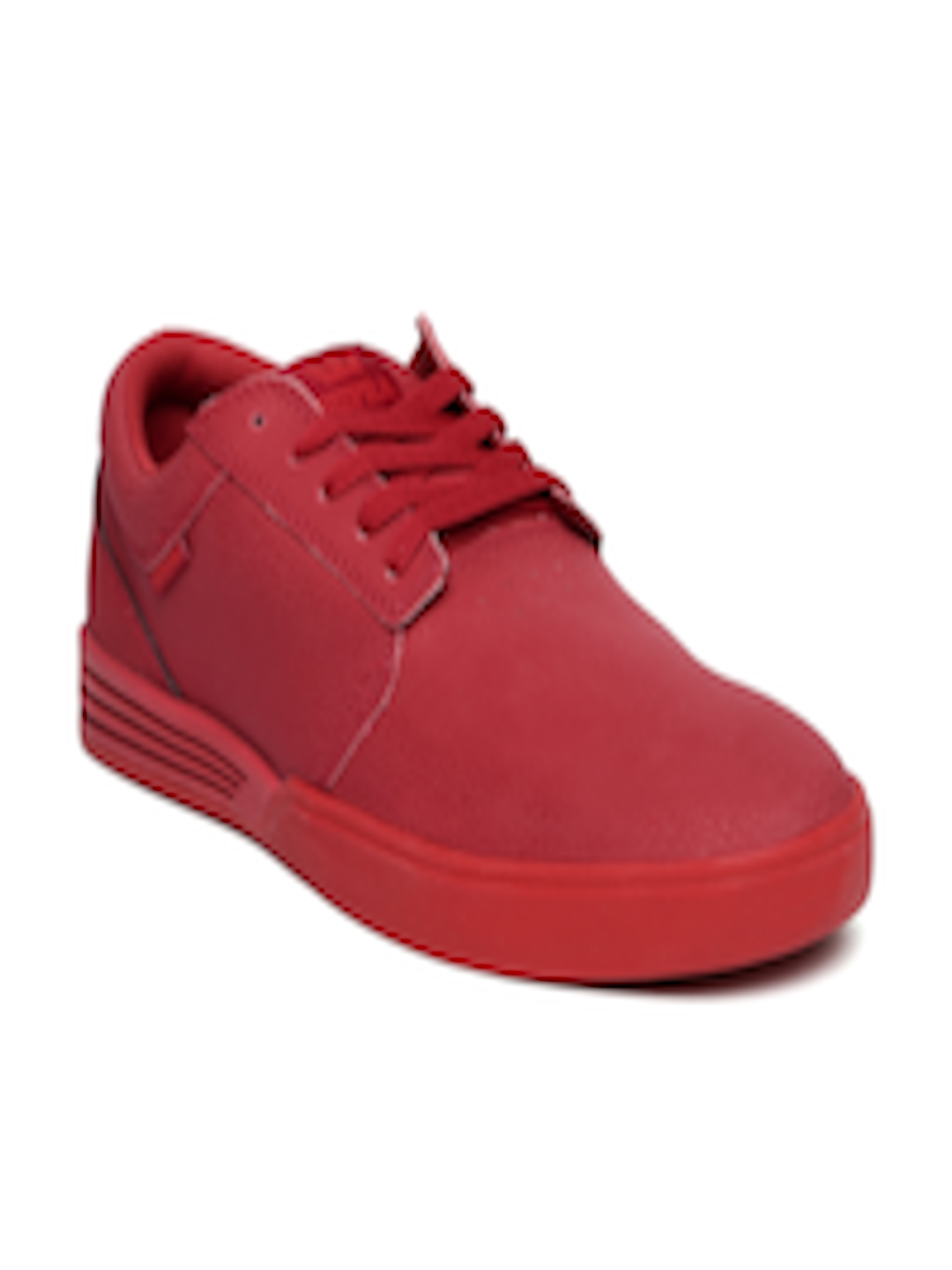 Supra Mens Hammer Red Red Skate Shoes wGTGc