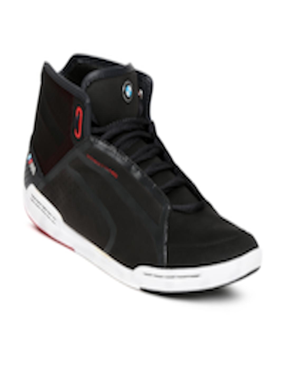 puma bmw mid sneakers