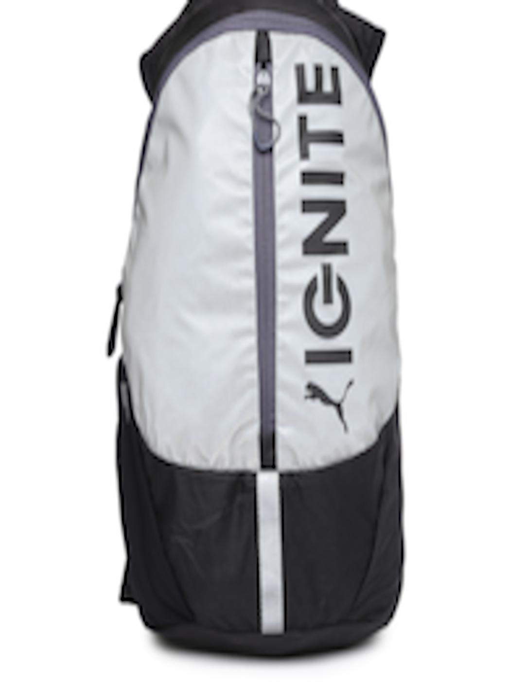 e28c961031 Buy PUMA Unisex Black   Grey PR Lightweight Backpack - Backpacks for Unisex  1001861