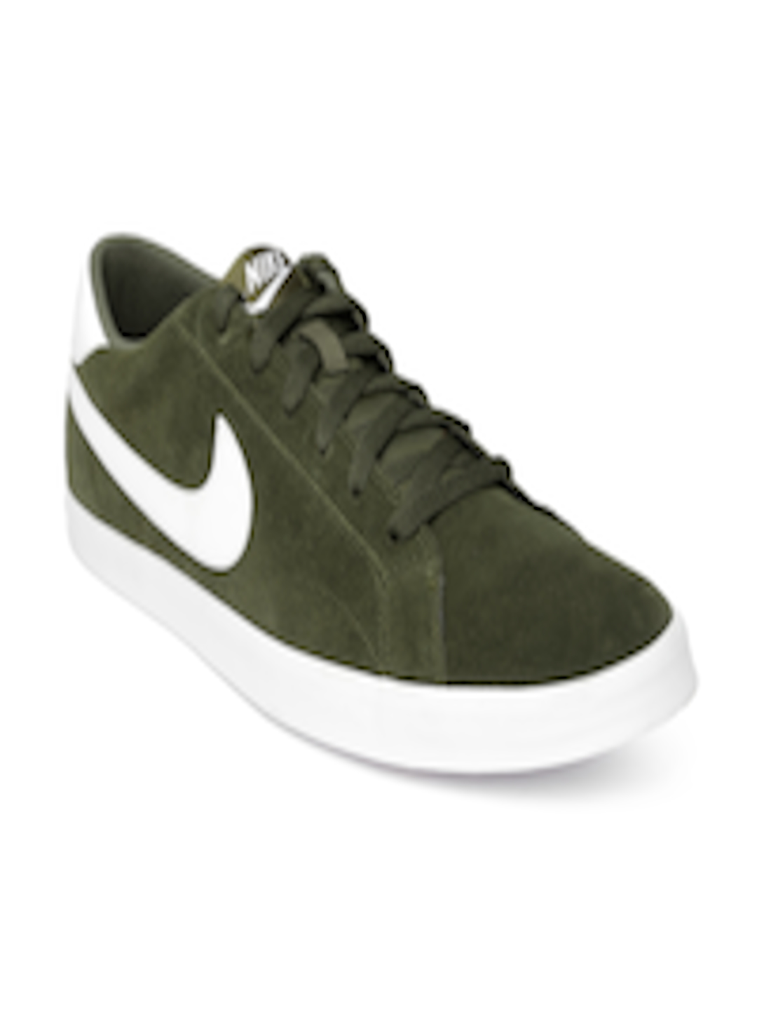 Buy Nike Men Olive Green Eastham Suede Sneakers - Casual Shoes for Men  1003502  3620d63e5