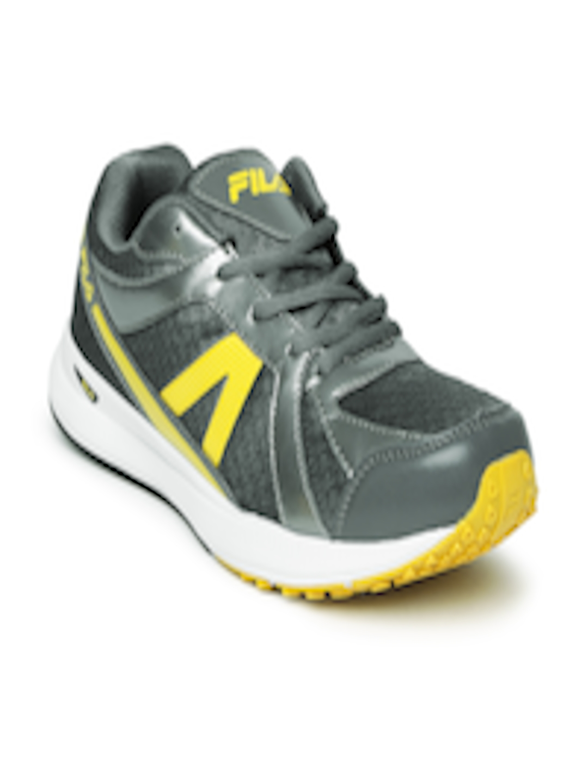8db717579162 Buy FILA Men Grey   Yellow Element II Sports Shoes - Sports Shoes for Men  1086682