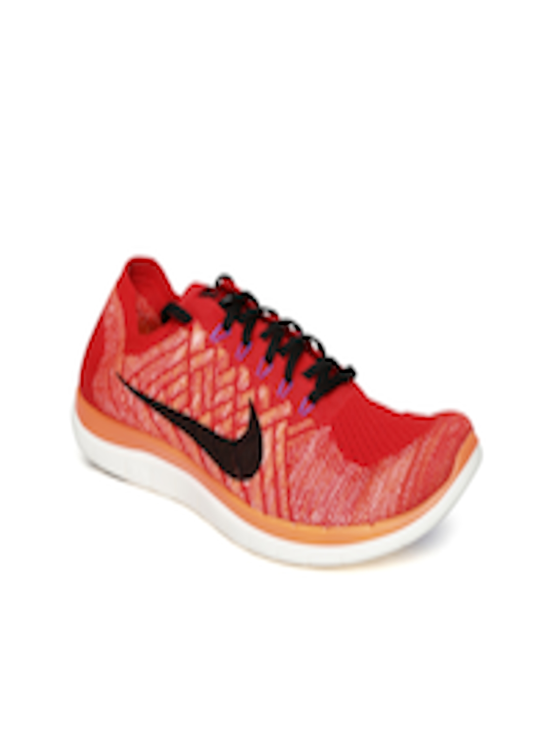 fea9f4dd0e17 Buy Nike Men Red Free 4.0 Flyknit Running Shoes - Sports Shoes for Men  1109832