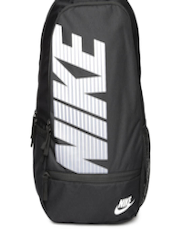 Buy Nike Unisex Black Printed Classic North Backpack