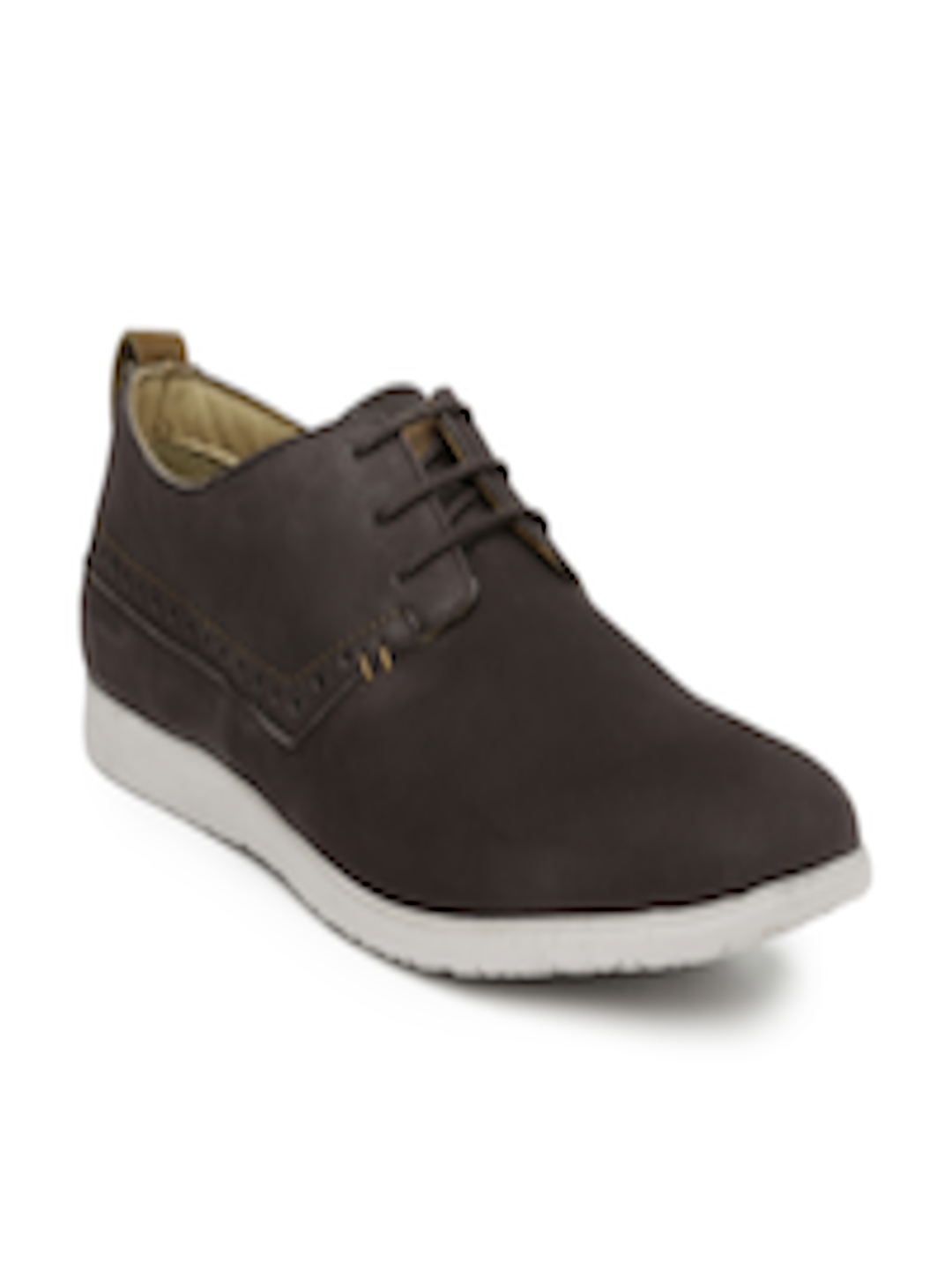 buy hush puppies brown leather casual shoes casual