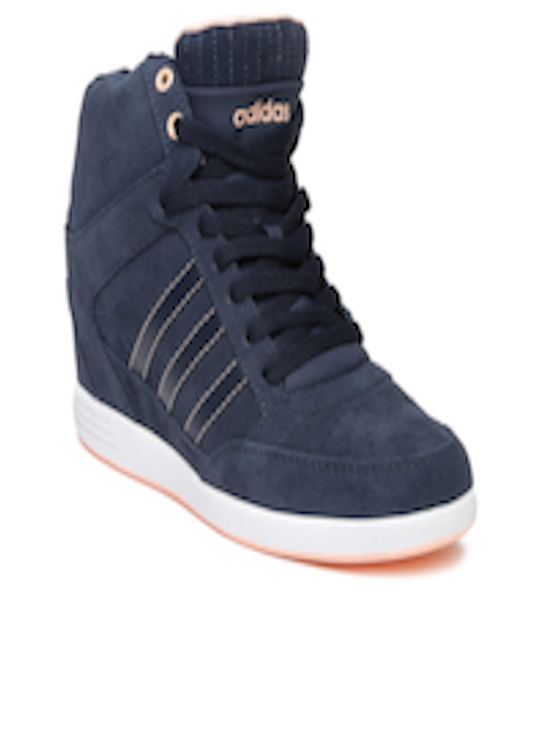 dd31b4fb6571 Buy ADIDAS NEO Women Navy Super Wedge Suede Sneakers - Casual Shoes for  Women 1193657