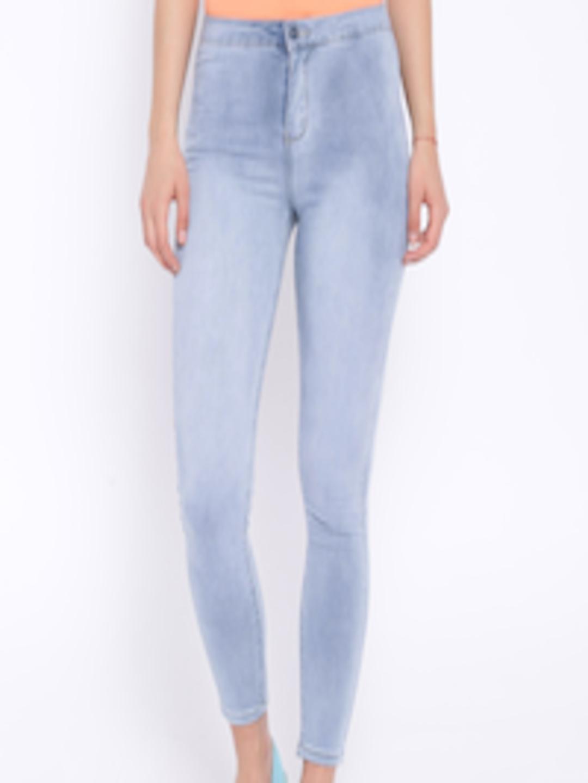 692c3cbc2a7ba8 Buy Deal Jeans Light Blue Denim Jeggings - Jeggings for Women ...