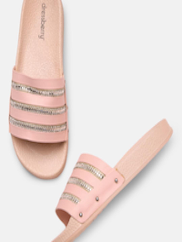 Buy Catwalk Women Nude Coloured Peep Toe Sandals - Heels