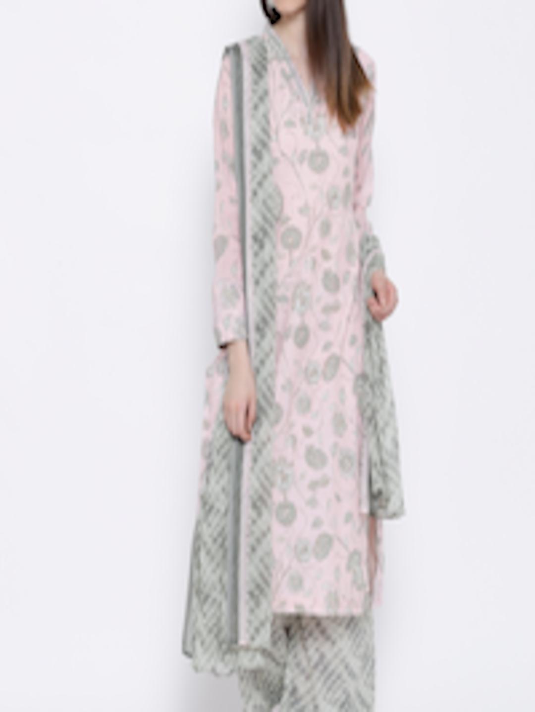 Ihram Kids For Sale Dubai: Buy BIBA Pink & Grey Printed Kurta With Palazzo Trousers