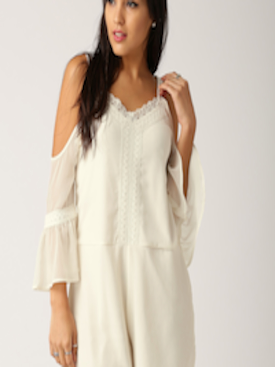 Buy All About You Off White Playsuit - Jumpsuit for Women ...
