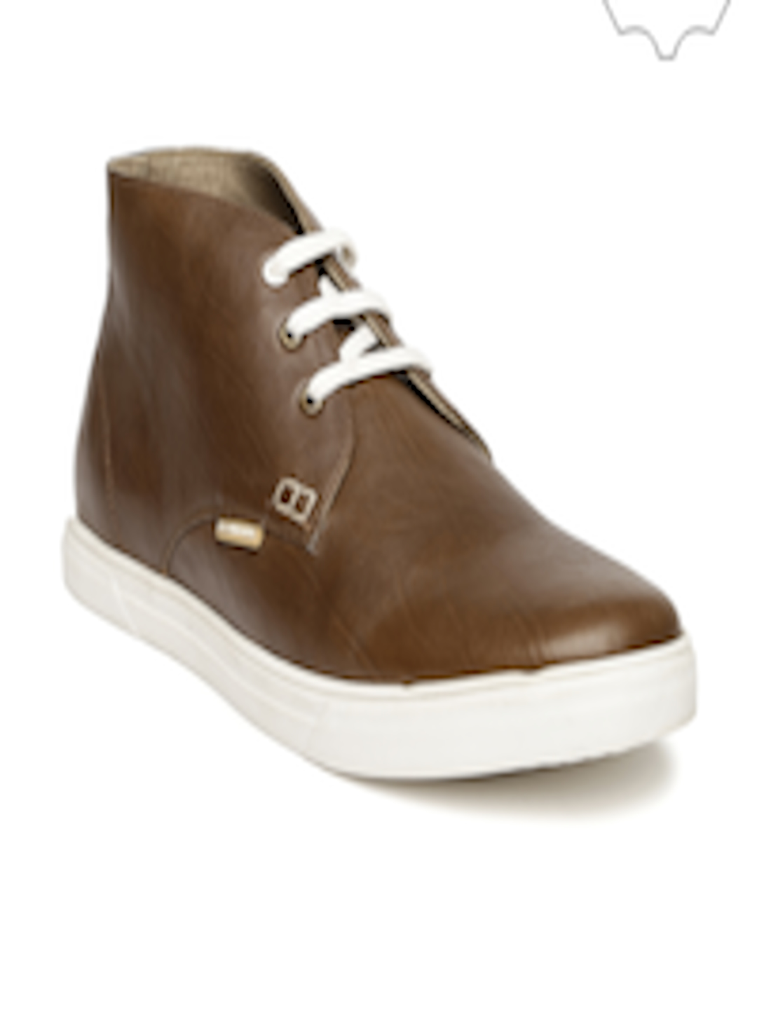 buy u s polo assn men brown leather casual shoes casual shoes for men 1368154 myntra. Black Bedroom Furniture Sets. Home Design Ideas