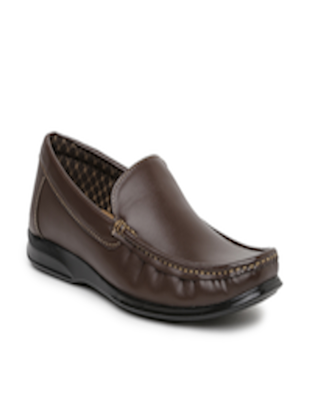 Buy Bata Men Brown Loafers Casual Shoes For Men 1387625