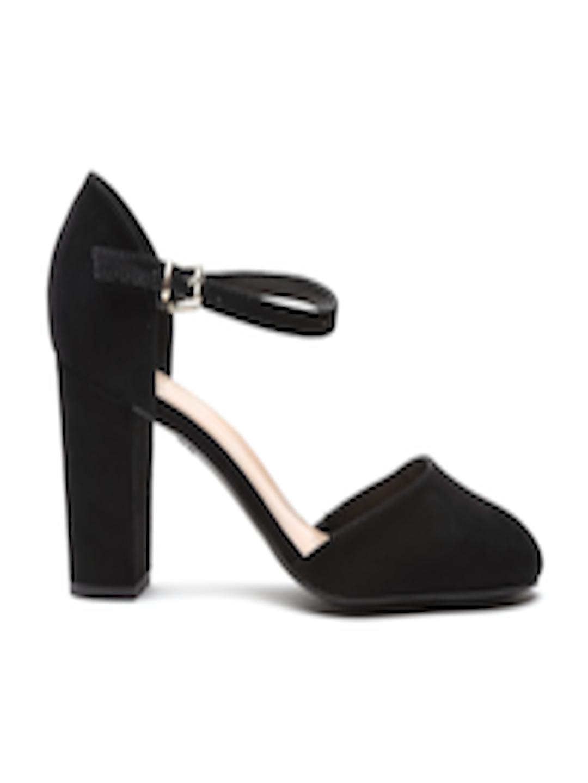 a5c5e1610eb Buy New Look Women Black Block Heels - - Footwear for Women