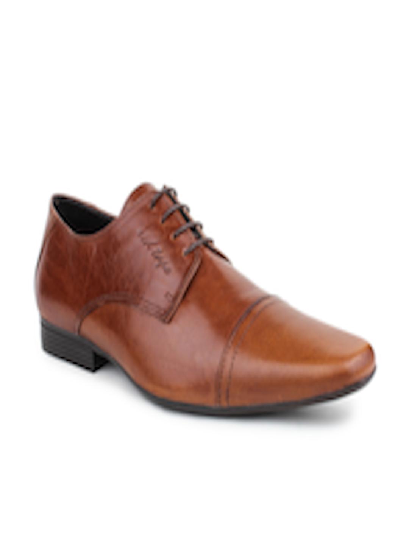 Buy Red Tape Men Tan Brown Leather Formal Shoes Formal