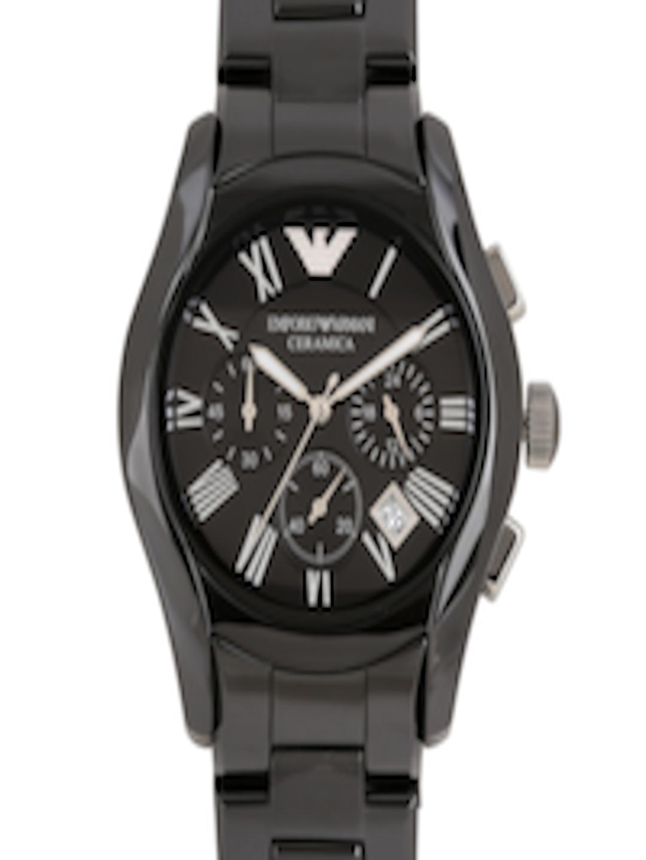 c2881c1b21e Buy Emporio Armani Men Black Dial Chronograph Watch AR1400I - Watches for  Men 1418954