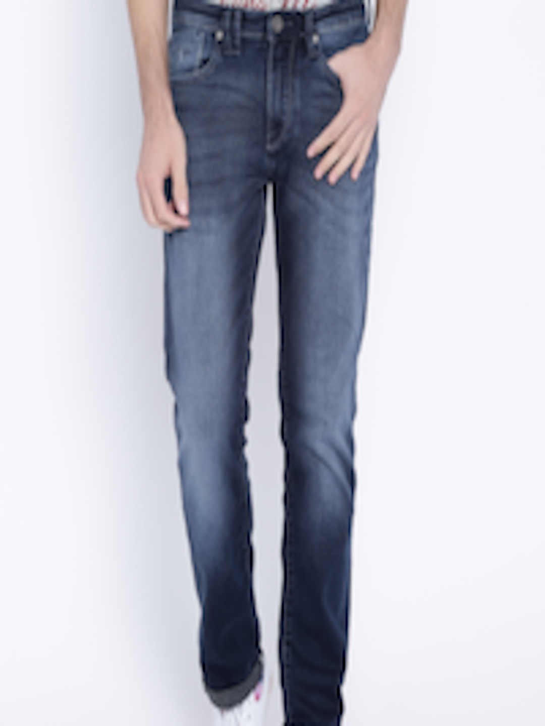 Buy Flying Machine Blue Prince Slim Fit Stretchable Jeans ...