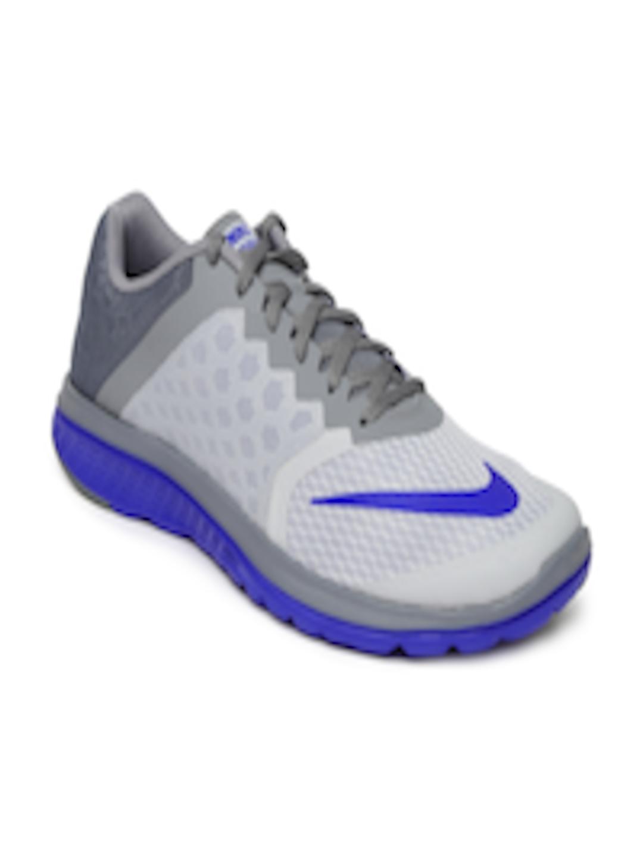 online store 5b432 020bf Buy Nike Men Grey FS Lite Run 3 Running Shoes - - Footwear for Men