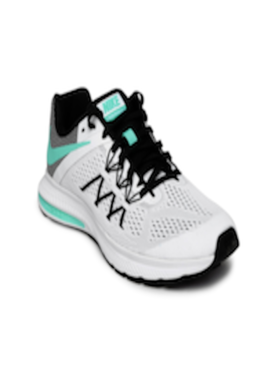 newest 74598 20d36 Buy Nike Women White & Black Zoom Winflo 3 Running Shoes - - Footwear for  Women