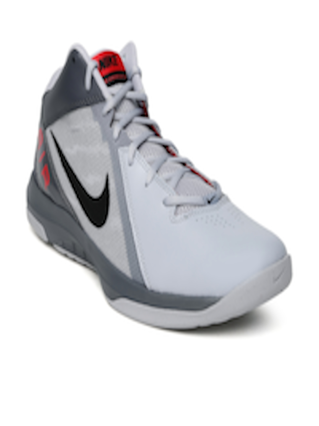 df59932ef4d Buy Nike Men Grey Air Overplay IX Mid Top Basketball Shoes - Sports Shoes  for Men 1420992