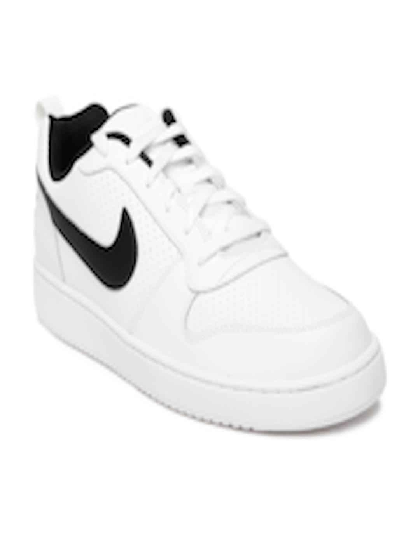 Buy Nike Men White Court Borough Sneakers Casual Shoes