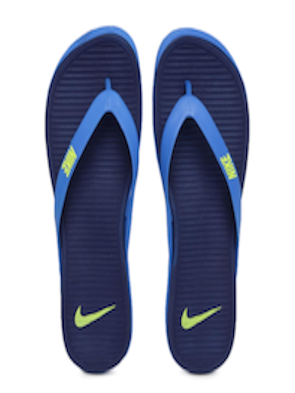 wholesale dealer c384d f1431 Buy Nike Men Blue Matira Flip Flops - - Footwear for Men