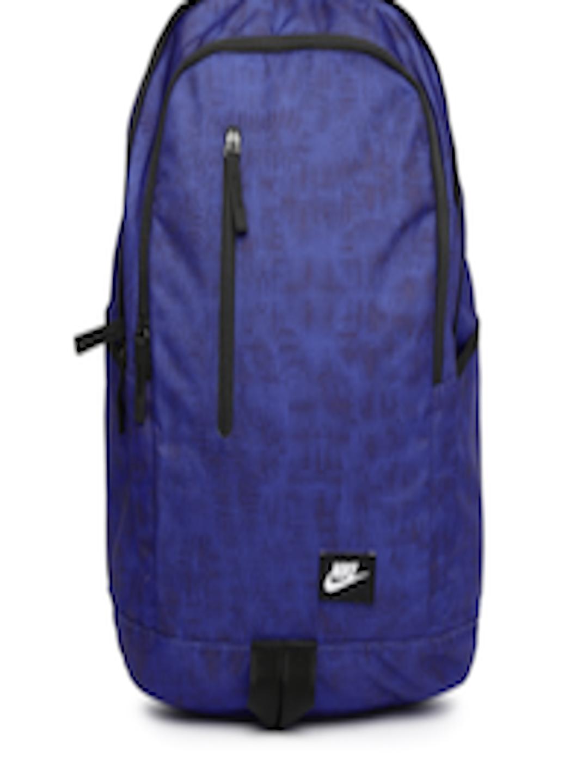 Buy Nike Men Blue   Black All Access Soleday Printed Backpack - Backpacks  for Men 1421505  227beca562290