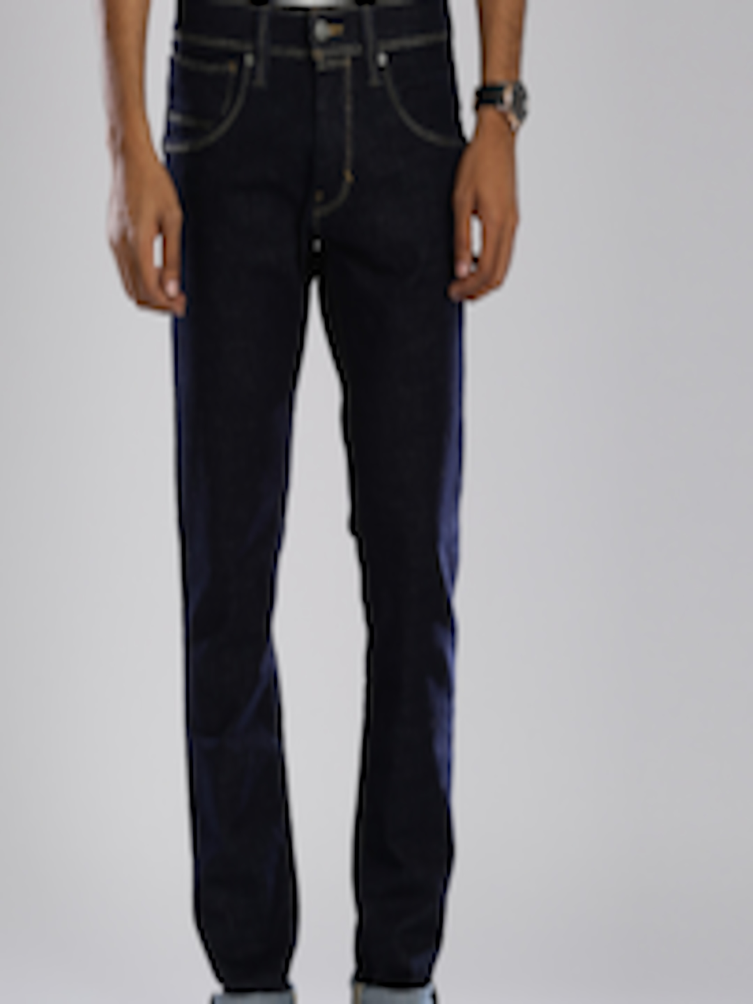 3ec0e23a Buy Levi's Blue Redloop Skinny Straight Stretchable Jeans 65504 - Jeans for  Men 1424086 | Myntra