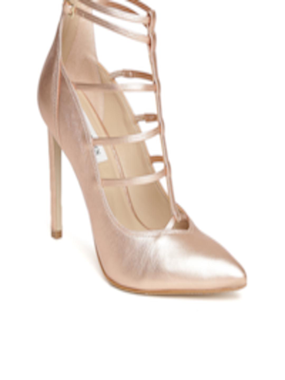 ea510c60ca9 Buy Steve Madden Women Bronze Toned Solid Sandals - Heels for Women 1431965
