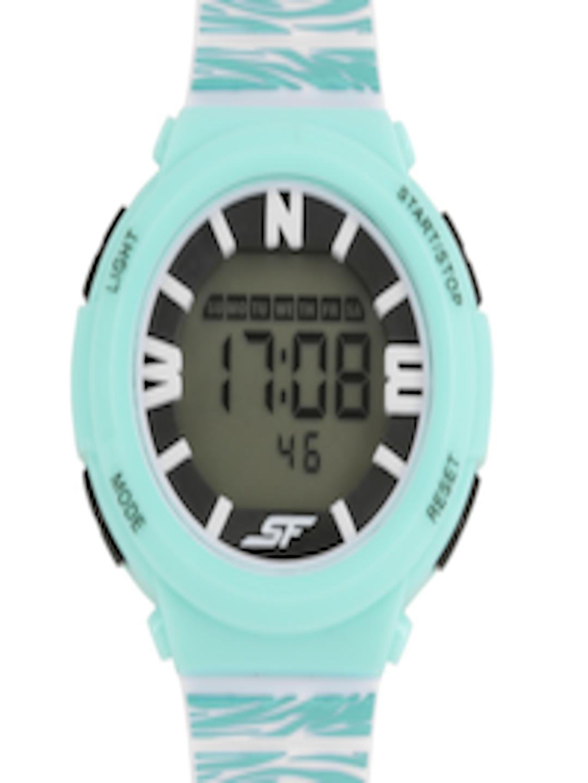 Buy Sonata Ocean Series Girls Mint Green Digital Watch ...