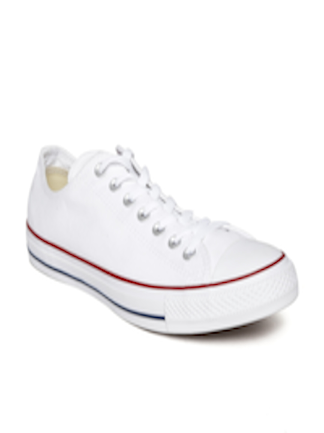 dd2a35fdecb Buy Converse Unisex White Canvas Shoes - Casual Shoes for Unisex 1459690