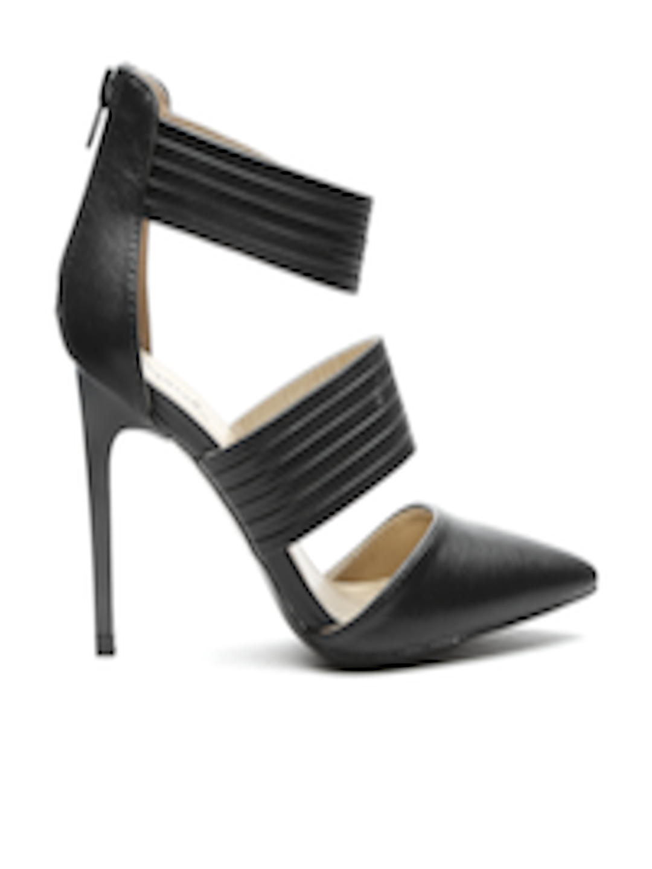 ba0d74d7e4eb5 Buy Qupid Women Black Heels - - Footwear for Women